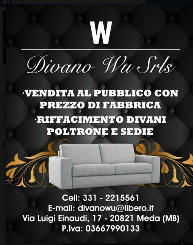 Poltrone E Divani Meda.Divani Wu S R L S Azienda 4 0